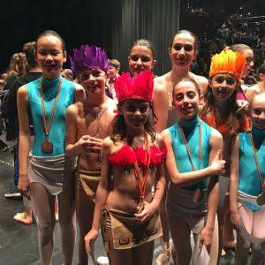 Flama Escola de Dansa concursa en el ANAPRODE