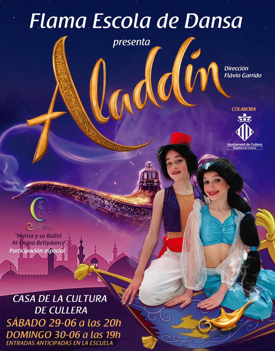 Aladdin 2019. Flama Escuela de Danza