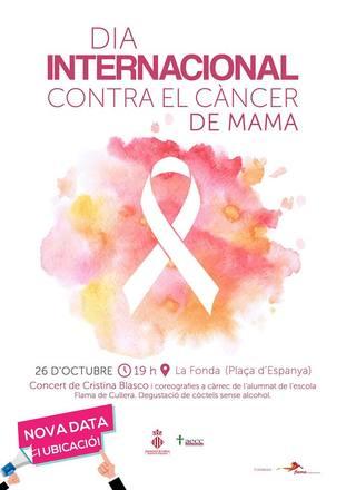 Dia Mundial contra el Cancer de Mama Cullera 2018
