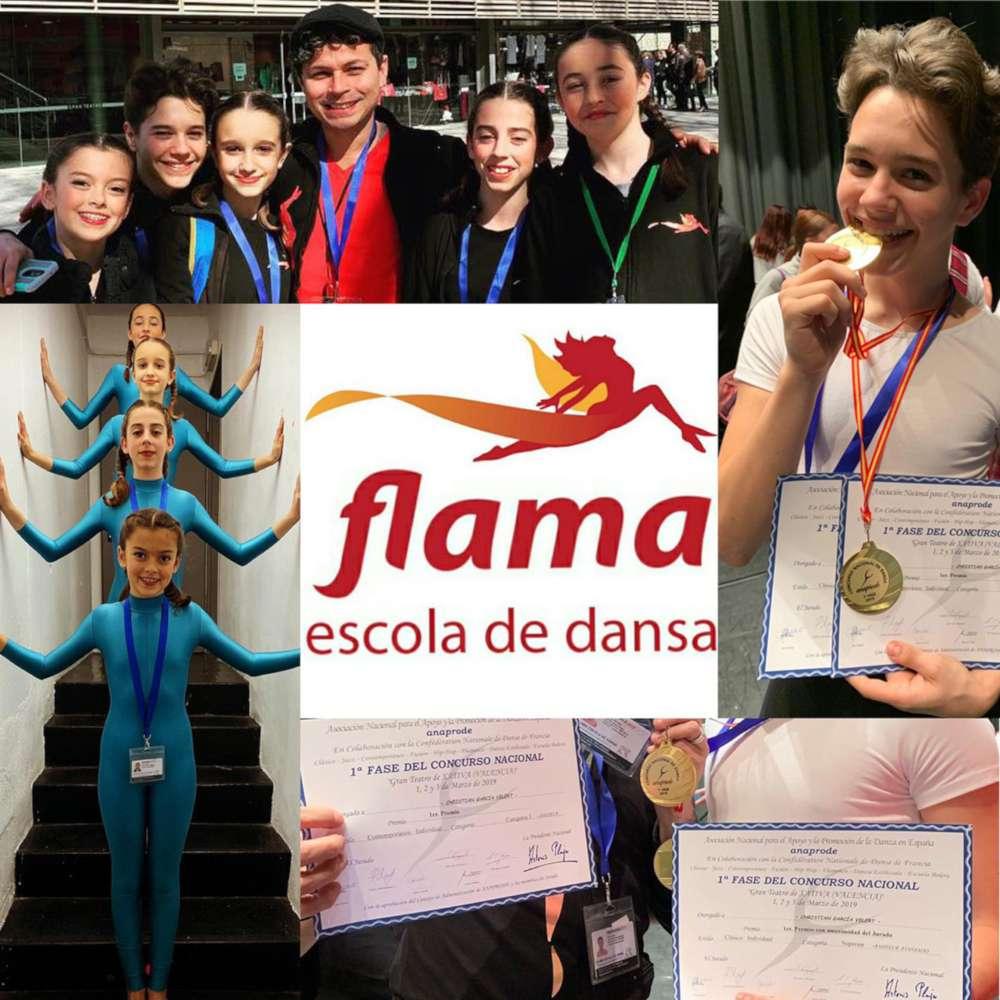 Flama Escola de Dansa en el ANAPRODE de Xativa 2019